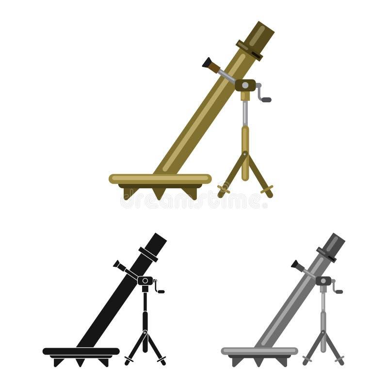 Conception de vecteur d'icône d'arme et d'arme à feu Collection de l'illustration courante de vecteur d'arme et d'armée illustration libre de droits