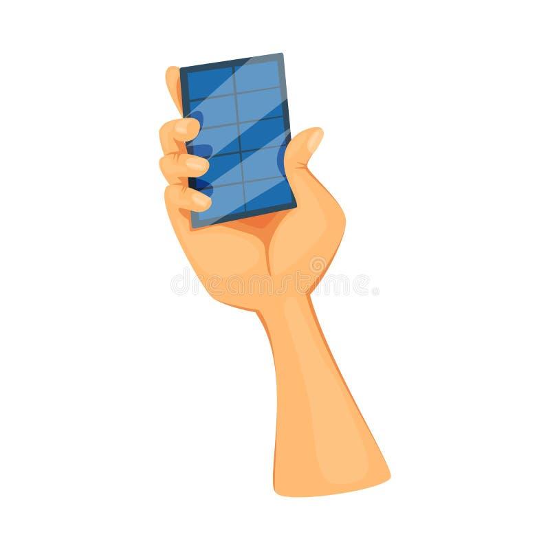 Conception de vecteur d'icône de main et de générateur Collection d'ic?ne de vecteur de main et de production pour des actions illustration stock