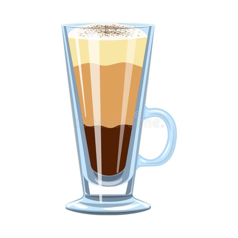 Conception de vecteur d'ic?ne de tasse et de dessert Collection de symbole boursier de tasse et de milk-shake pour le Web illustration stock