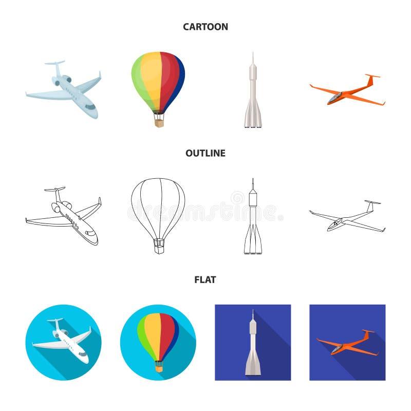 Conception de vecteur d'ic?ne de transport et d'objet Placez du transport et du symbole boursier de glissement pour le Web illustration stock