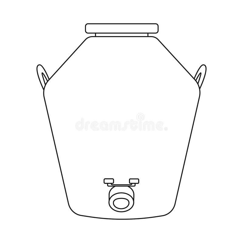Conception de vecteur de distillerie et de logo de processus Collection de distillerie et de symbole boursier d'industrie pour le illustration de vecteur