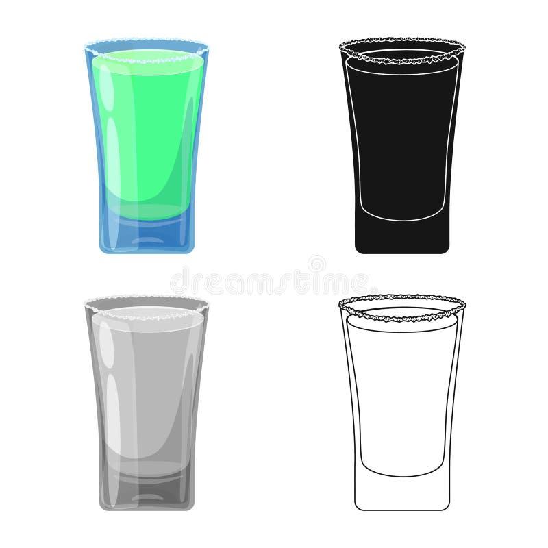 Conception de vecteur de logo en verre et d'eau Placez du symbole boursier en verre et clair pour le Web illustration libre de droits