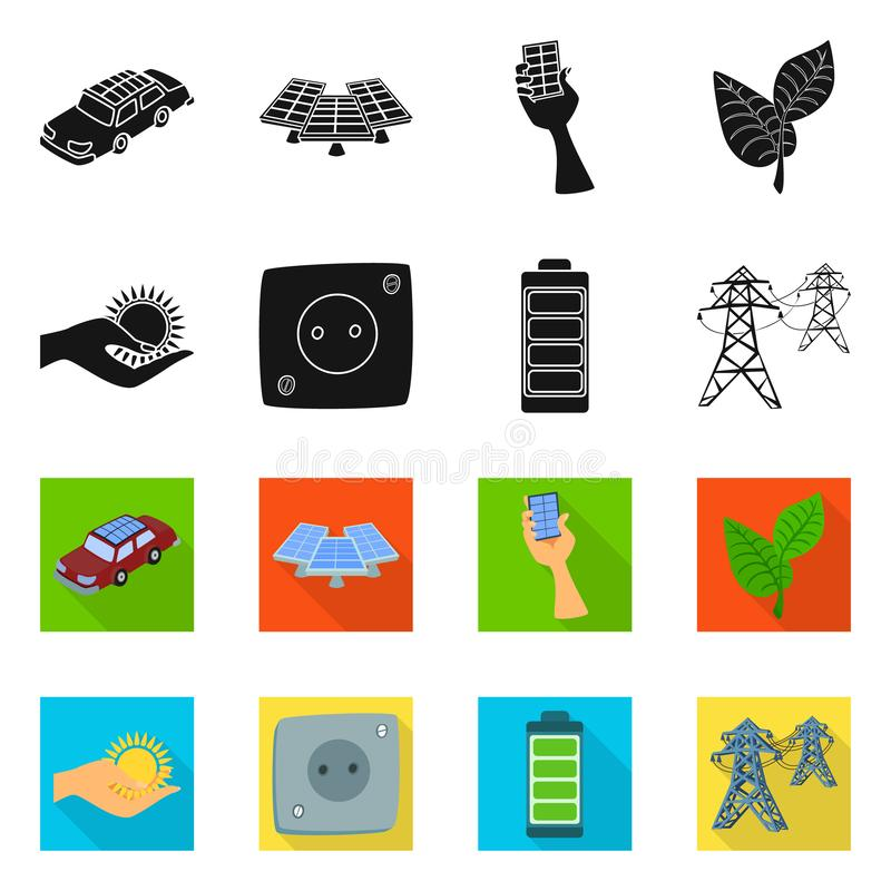 Conception de vecteur de signe d'innovation et de technologie Placez de l'illustration de vecteur d'actions d'innovation et de na illustration libre de droits