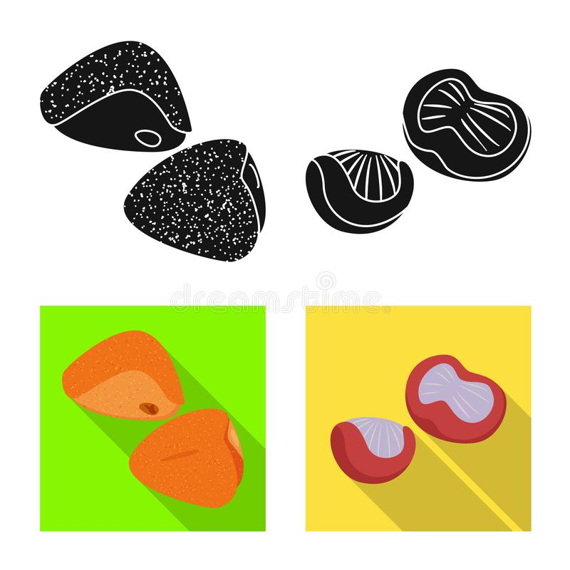 Conception de vecteur de symbole de produit et de volaille Placez du produit et du symbole boursier d'agriculture pour le Web illustration de vecteur