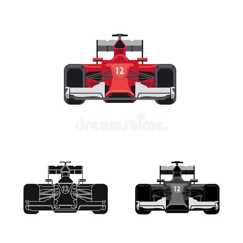 Conception de vecteur de voiture et de signe de rassemblement Collection de l'illustration courante de vecteur de voiture et de c illustration de vecteur