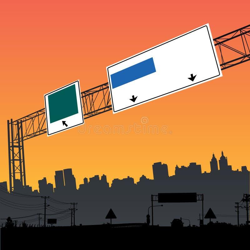 Conception de ville illustration de vecteur