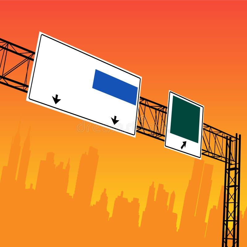 Conception de ville illustration stock
