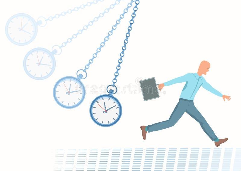 Conception of Deadline. stock illustration