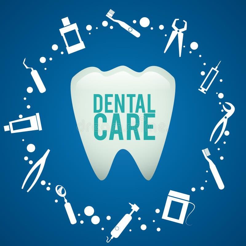 Conception dentaire, illustration illustration libre de droits