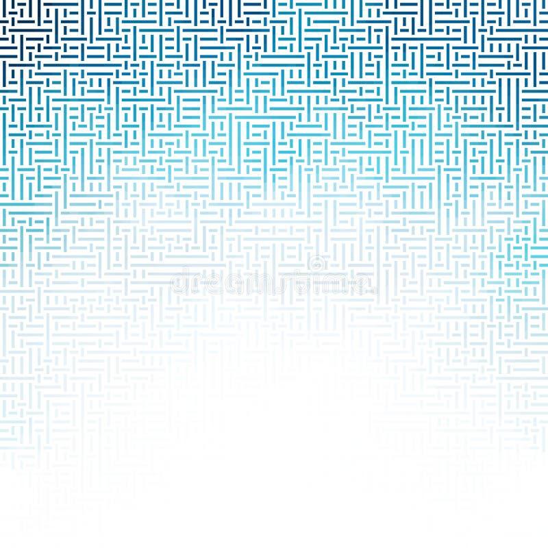 Conception des modèles géométriques Modèle abstrait des formes géométriques illustration stock