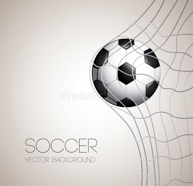 Conception du football illustration libre de droits