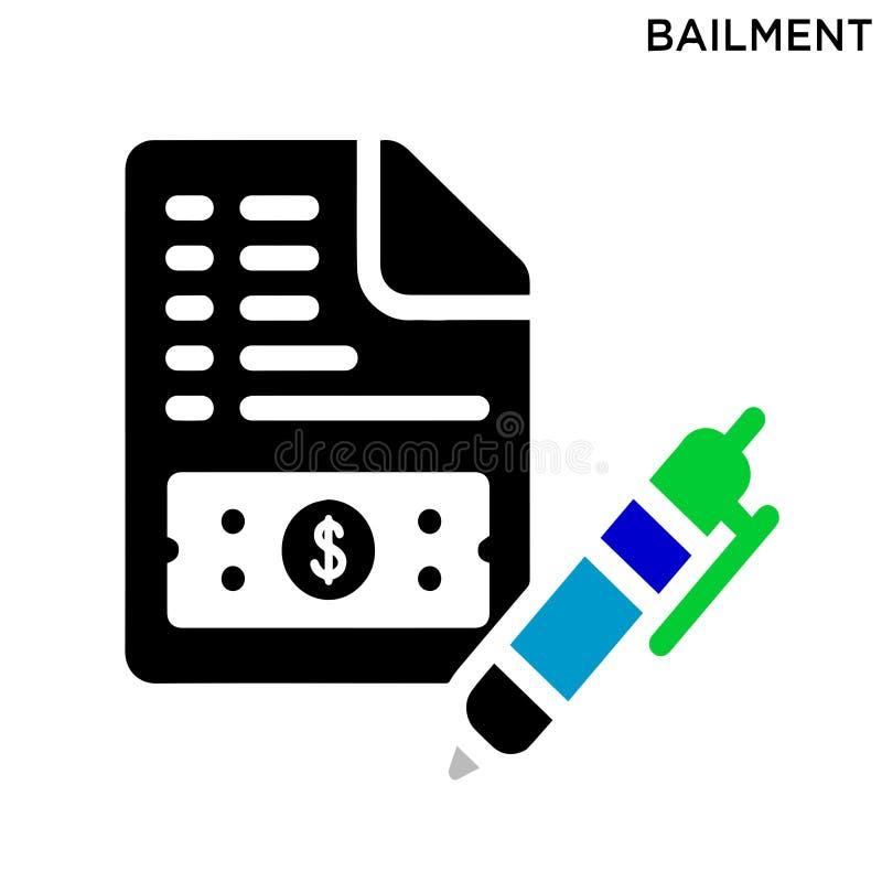 Conception editable de symbole d'icône de Boilment illustration de vecteur