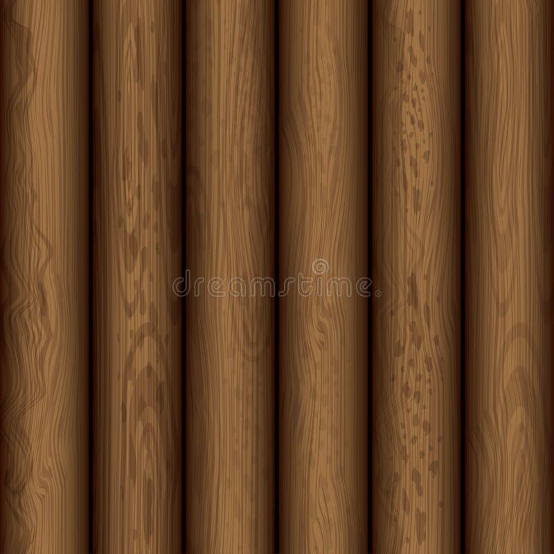 Conception en bois de fond de texture illustration stock