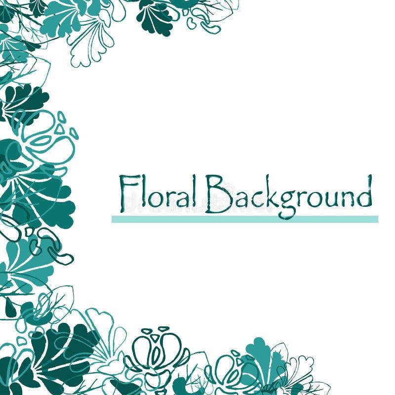 Conception Eps10 Belle configuration florale du fond art illustration libre de droits