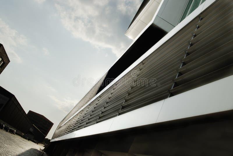 Conception extérieure de contemporain Architecture moderne à Hambourg, GE photos libres de droits