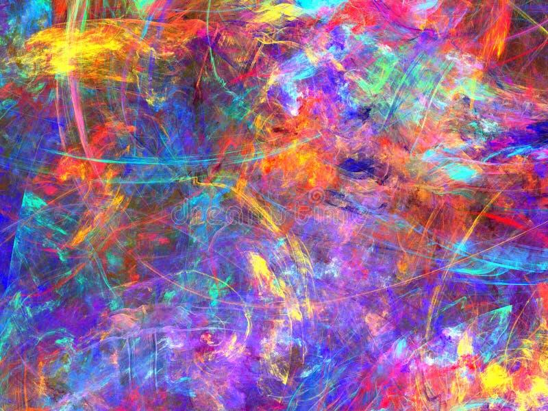 Conception fantastique de fractale illustration libre de droits