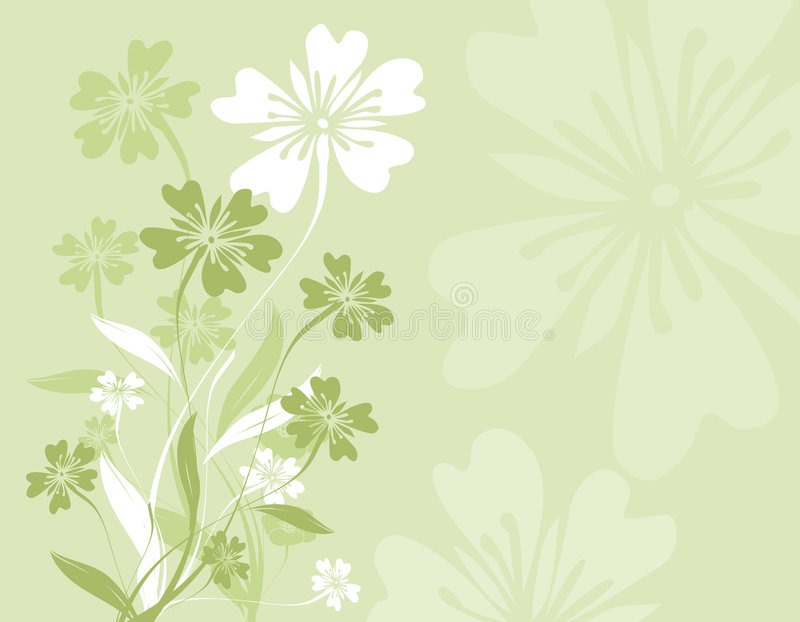Download Conception florale illustration de vecteur. Illustration du abstrait - 727800