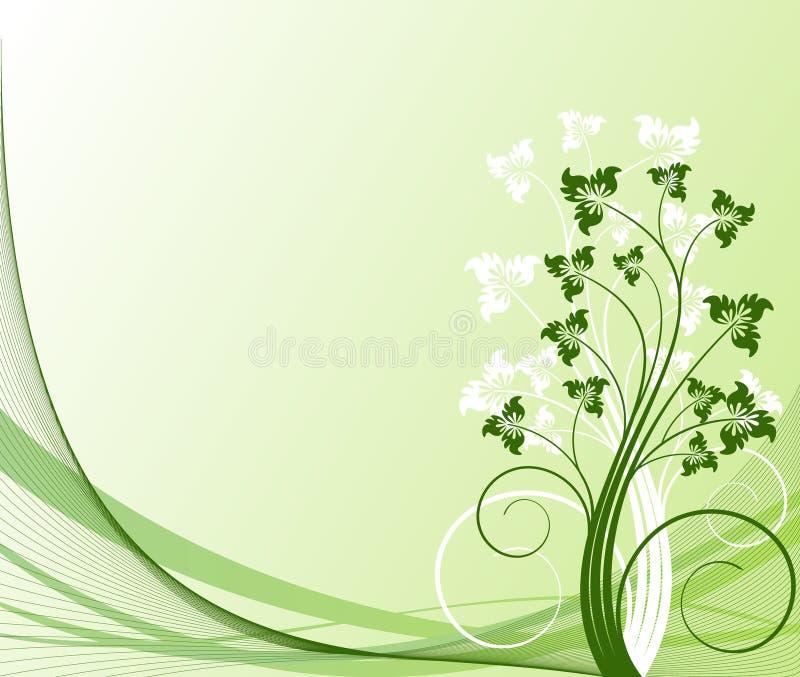 Conception florale de vecteur illustration de vecteur