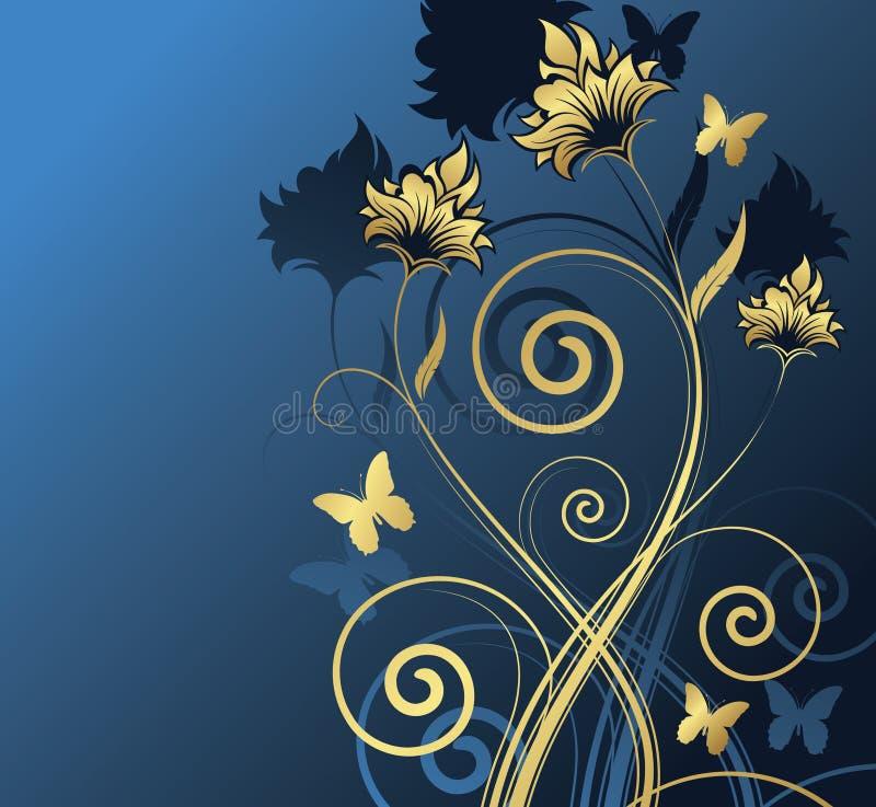 Conception florale. Illustration de vecteur photos stock
