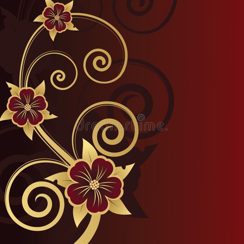 Conception florale. Illustration de vecteur photographie stock