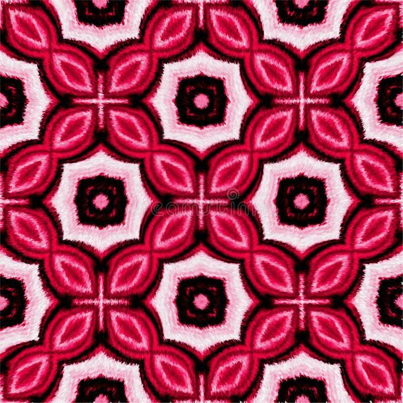 Conception générée par ordinateur couvrante velue et allumée colorée d'image d'illustration illustration libre de droits