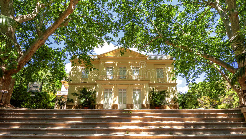 Conception garden, jardin la concepcion in Malaga (Spain).  royalty free stock photography