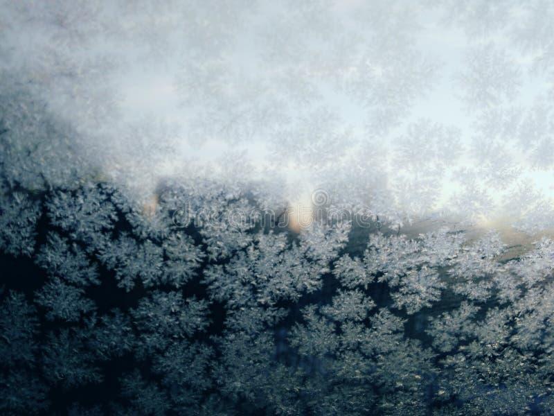 Conception gelée de glace image stock