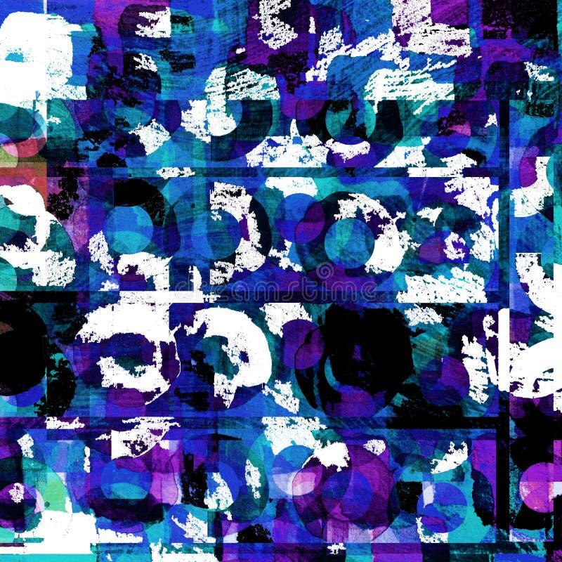 Conception graphique de fond grunge illustration stock