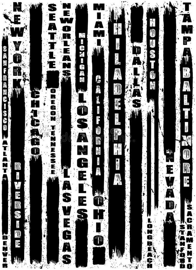 Conception graphique de vecteur de T-shirt d'homme de slogan de typographie de vintage illustration libre de droits