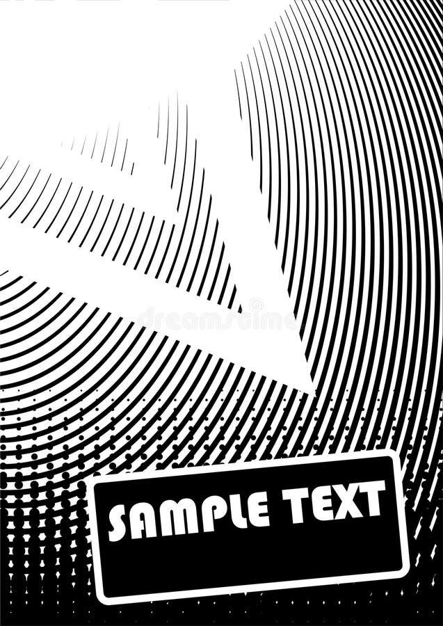Conception grunge abstraite. Vecteur illustration stock