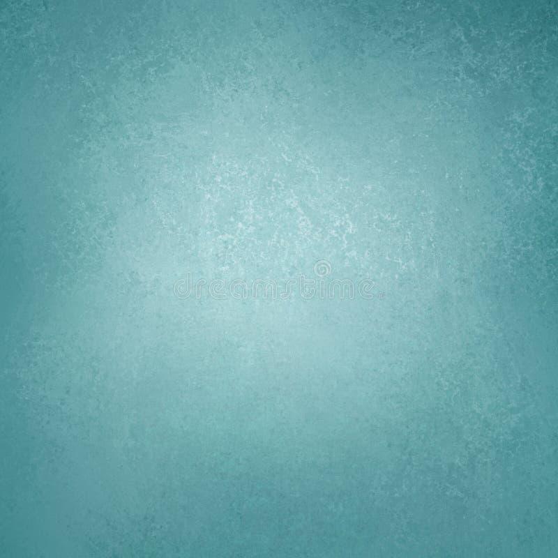 Conception grunge de texture de fond de vintage riche de luxe bleu abstrait de fond avec la peinture antique élégante sur l'illust image stock