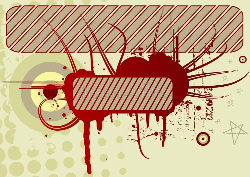 Conception Grunge De Vecteur Photo libre de droits