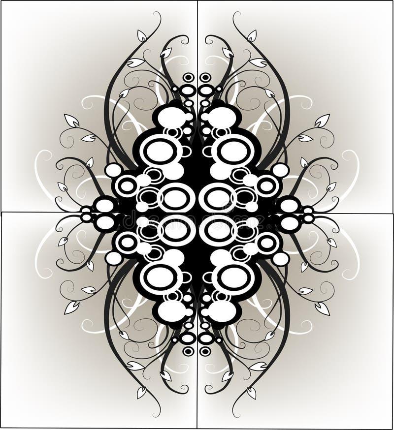Conception grunge graphique illustration de vecteur
