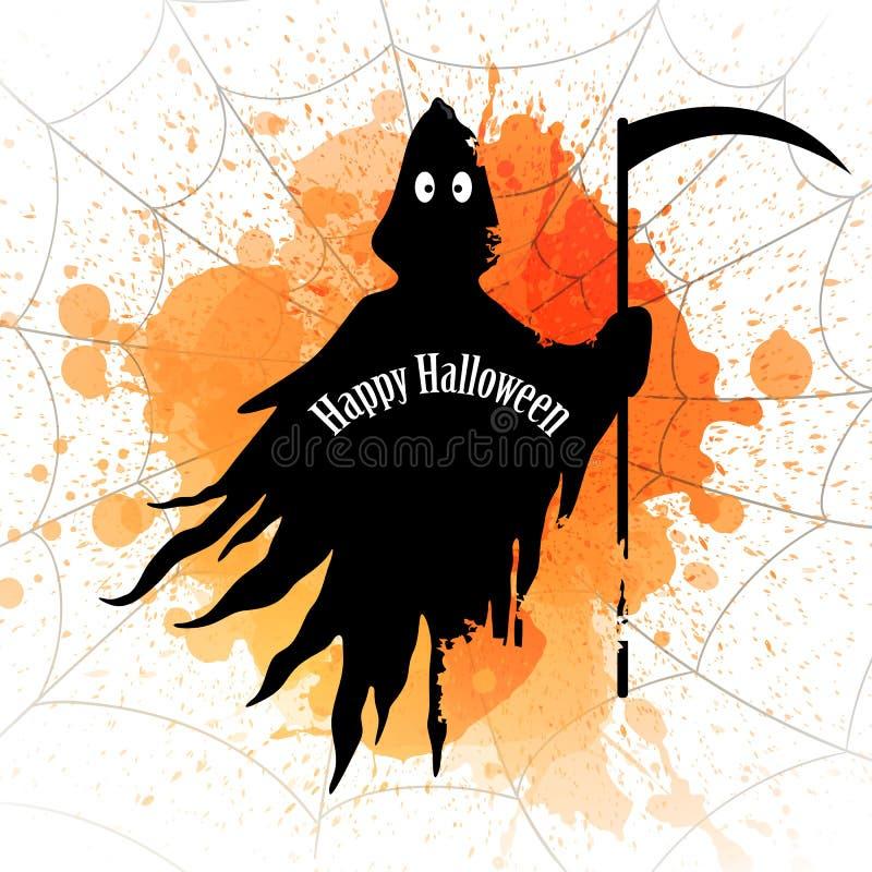 Download Conception Heureuse De Halloween Illustration Stock - Illustration du enfer, sinistre: 76079614