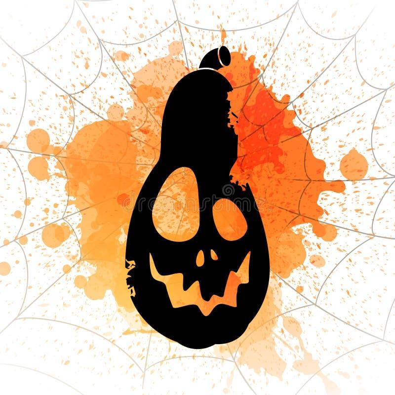 Download Conception Heureuse De Halloween Illustration Stock - Illustration du célébration, orange: 76079622