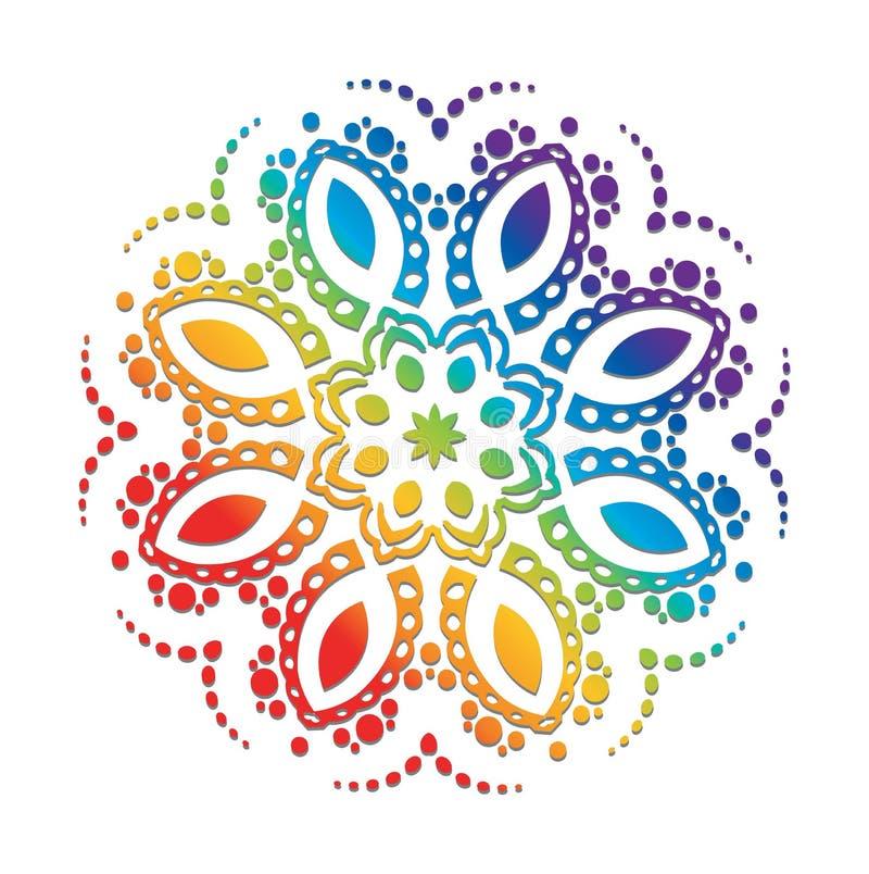 Conception hexagonale de vecteur illustration de vecteur
