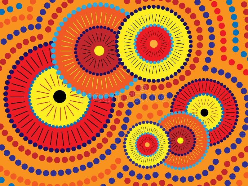 Conception indigène illustration stock