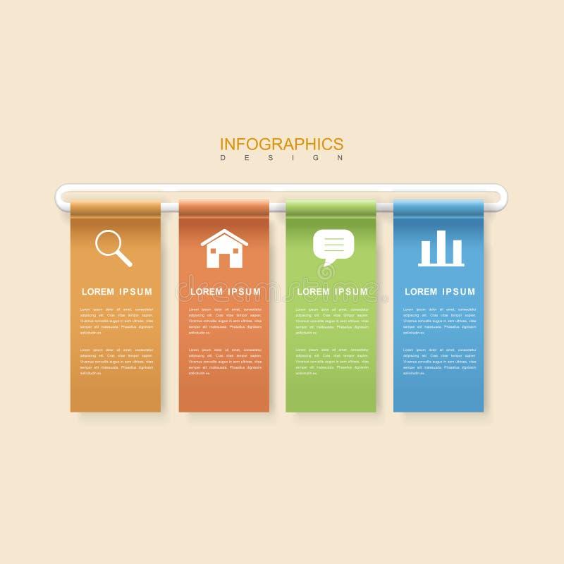 Conception infographic moderne illustration de vecteur