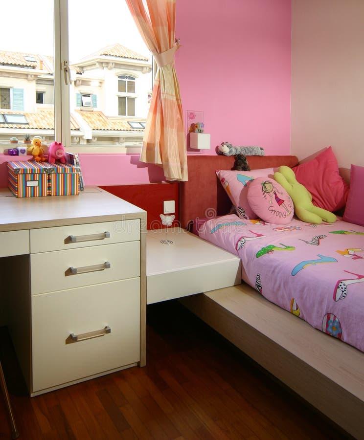 Conception intérieure - chambre à coucher photos stock
