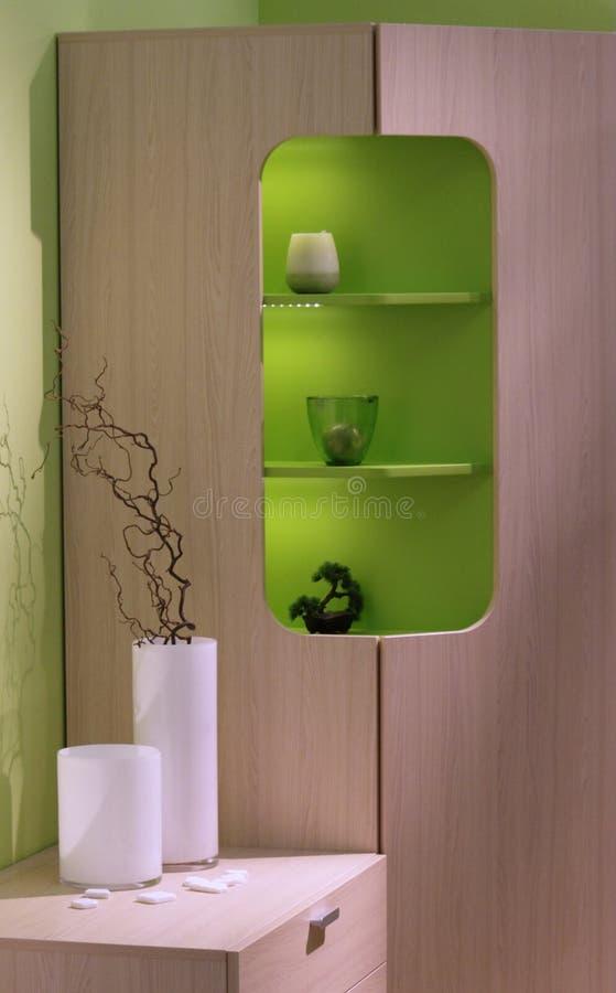 Conception intérieure de salle de séjour moderne. image libre de droits
