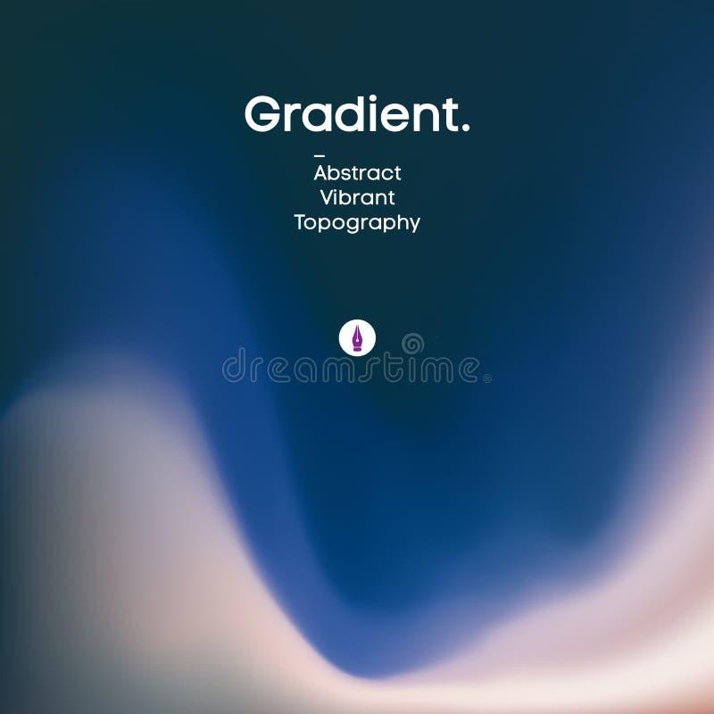 Conception liquide de fond de gradient Papier peint color? abstrait liquide futuriste ENV 10 illustration de vecteur