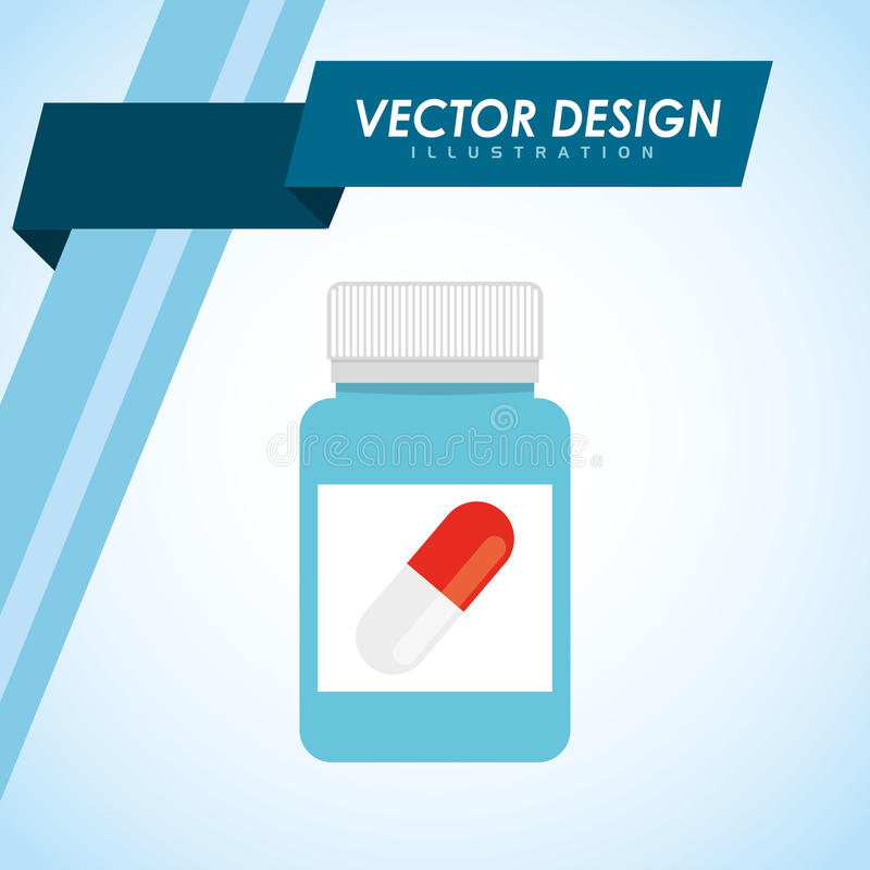Conception médicale d'icône illustration libre de droits