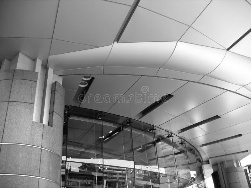 Download Conception Moderne D'entrée Image stock - Image du futuriste, circulaire: 740131