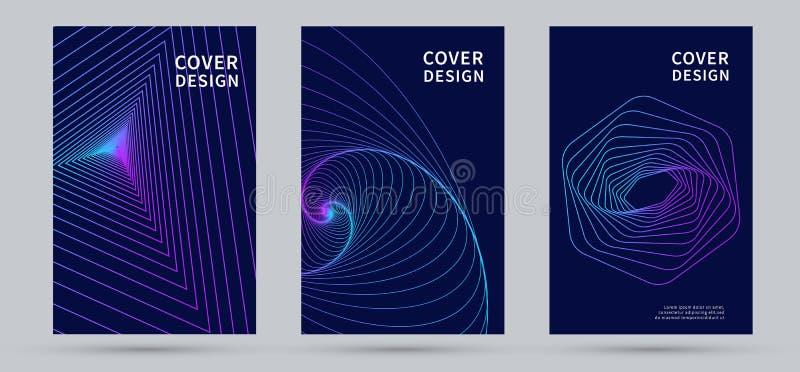 Conception moderne de couverture abr?gez le fond Illustration de vecteur illustration stock