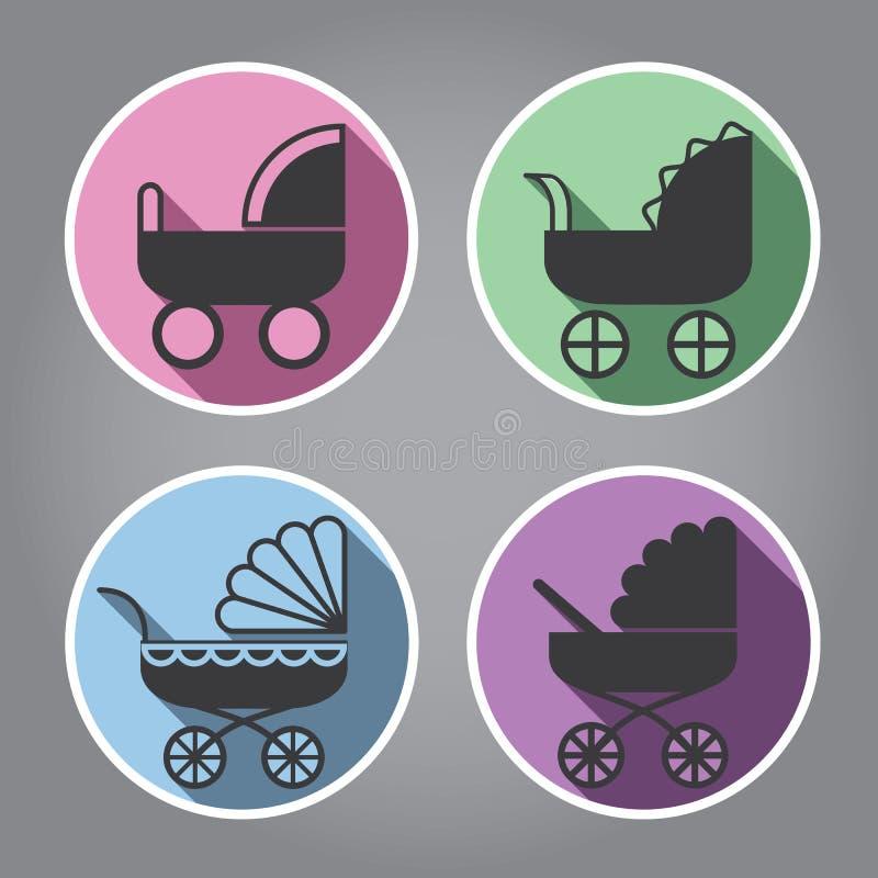 Conception moderne de logo photos stock