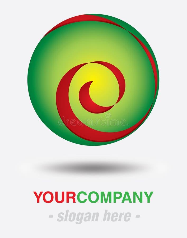 Conception moderne de logo photographie stock libre de droits