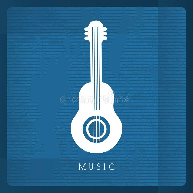 Conception musicale illustration libre de droits