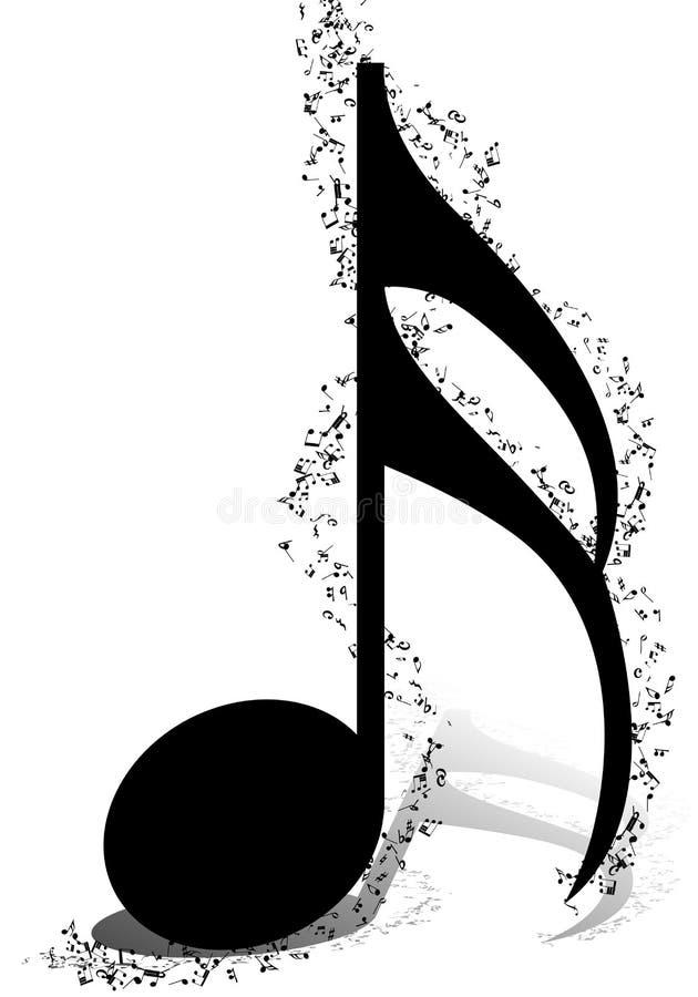 Conception musicale illustration de vecteur