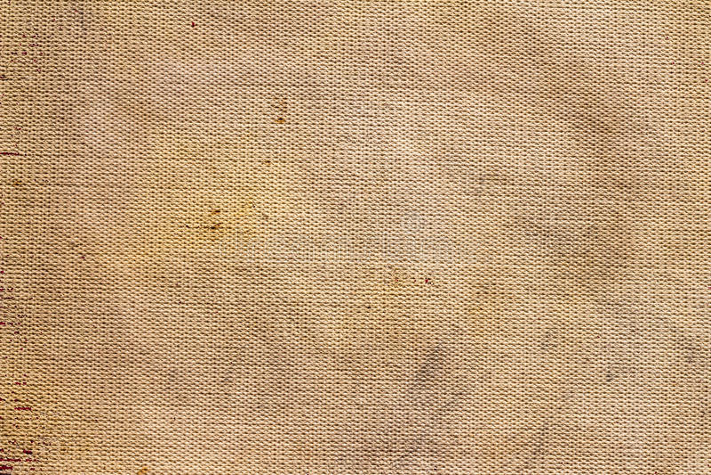 Conception naturelle de tissu de toile de brun de texture de sac illustration libre de droits