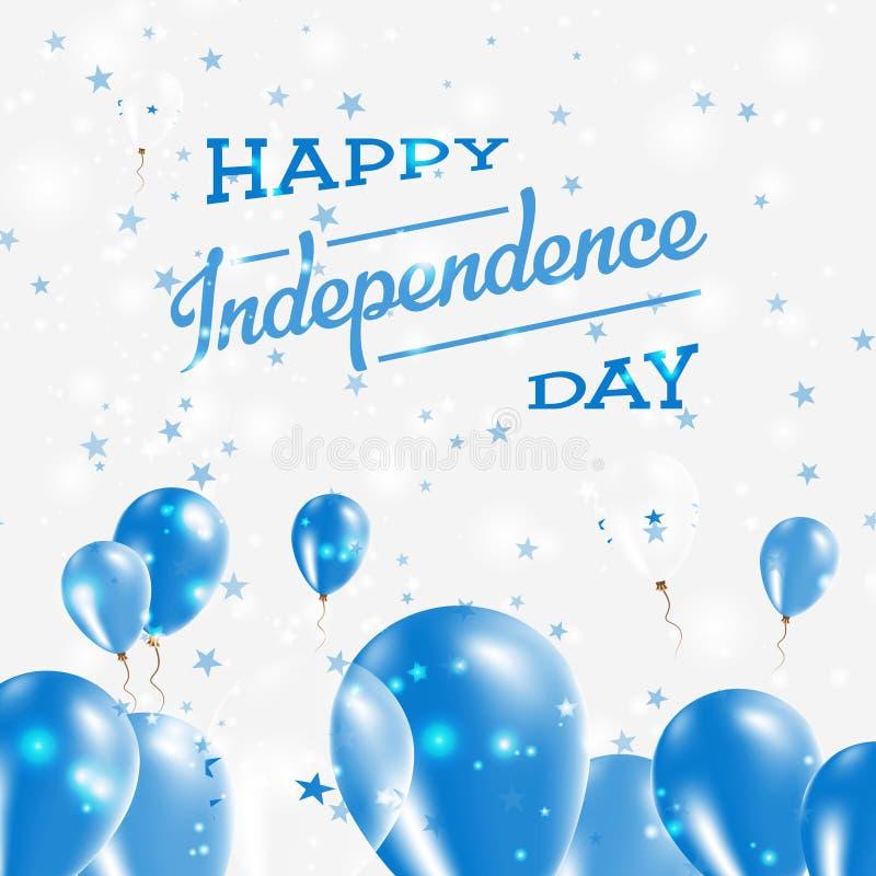 Conception patriotique de Jour de la Déclaration d'Indépendance du Honduras illustration de vecteur